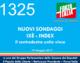 1325 – NUOVI SONDAGGI IXE'-INDEX