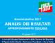Amministrative 2017 – Analisi dei risultati. Approfondimento Toscana