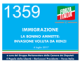 1359 – IMMIGRAZIONE LA BONINO AMMETTE: INVASIONE VOLUTA DA RENZI