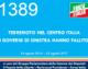1389 – TERREMOTO NEL CENTRO ITALIA – I GOVERNI DI SINISTRA HANNO FALLITO