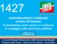 1427 – AGGIORNAMENTO SONDAGGI ULTIMA SETTIMANA