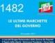 1482 – LE ULTIME MARCHETTE DEL GOVERNO