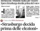"""""""Strasburgo decida prima delle elezioni"""" – Intervista al Presidente Berlusconi su 'Il Messaggero'"""