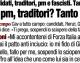 """""""Inciuci, pm, traditori? Tanto vinco io"""" – Intervista al Presidente Berlusconi su 'Il Tempo'"""