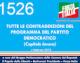 1526 – TUTTE LE CONTRADDIZIONI DEL PROGRAMMA DEL PARTITO DEMOCRATICO – Capitolo Lavoro