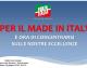 CAMERA, OGGI CONFERENZA STAMPA FI: ISTITUIRE MINISTERO MADE IN ITALY