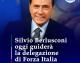 BERLUSCONI OGGI GUIDERA' LA DELEGAZIONE DI FORZA ITALIA ALLE CONSULTAZIONI!